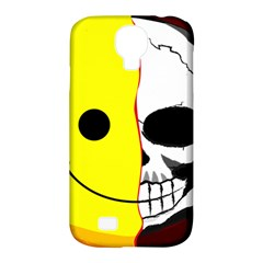 Skull Behind Your Smile Samsung Galaxy S4 Classic Hardshell Case (pc+silicone)