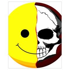 Skull Behind Your Smile Drawstring Bag (small)