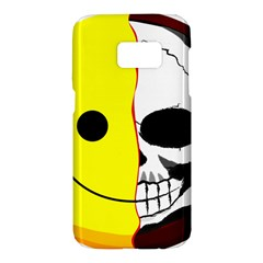 Skull Behind Your Smile Samsung Galaxy S7 Hardshell Case