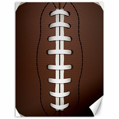 Football Ball Canvas 12  X 16