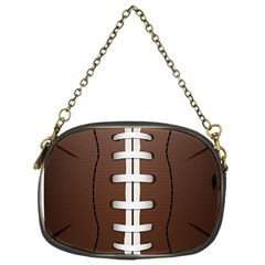Football Ball Chain Purses (one Side)