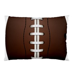Football Ball Pillow Case (two Sides)