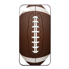 Football Ball Apple Iphone 4/4s Seamless Case (black)
