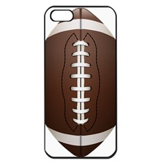 Football Ball Apple Iphone 5 Seamless Case (black)
