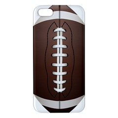 Football Ball Apple Iphone 5 Premium Hardshell Case