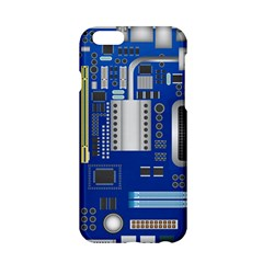 Classic Blue Computer Mainboard Apple Iphone 6/6s Hardshell Case