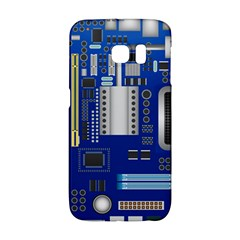 Classic Blue Computer Mainboard Galaxy S6 Edge