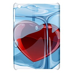 Heart In Ice Cube Apple Ipad Mini Hardshell Case