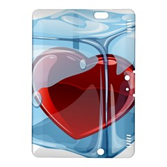 Heart In Ice Cube Kindle Fire Hdx 8 9  Hardshell Case