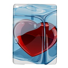 Heart In Ice Cube Ipad Air 2 Hardshell Cases