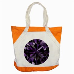 Amethyst Accent Tote Bag