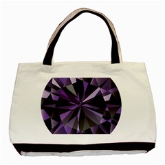Amethyst Basic Tote Bag (two Sides)