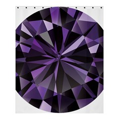 Amethyst Shower Curtain 60  X 72  (medium)