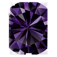Amethyst Apple Ipad 3/4 Hardshell Case (compatible With Smart Cover)