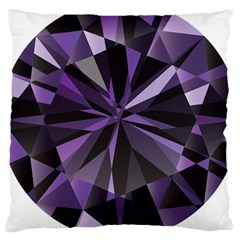 Amethyst Large Cushion Case (two Sides)