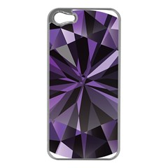 Amethyst Apple Iphone 5 Case (silver)