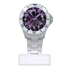 Amethyst Plastic Nurses Watch