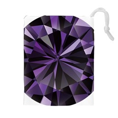 Amethyst Drawstring Pouches (extra Large)