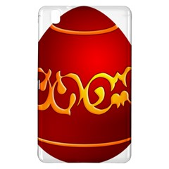 Easter Decorative Red Egg Samsung Galaxy Tab Pro 8 4 Hardshell Case
