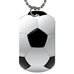 Soccer Ball Dog Tag (two Sides)
