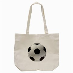 Soccer Ball Tote Bag (cream)