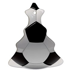 Soccer Ball Christmas Tree Ornament (two Sides)