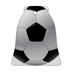 Soccer Ball Bell Ornament (two Sides)