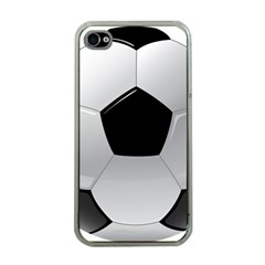 Soccer Ball Apple Iphone 4 Case (clear)