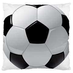 Soccer Ball Large Cushion Case (one Side)