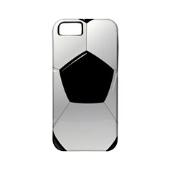 Soccer Ball Apple Iphone 5 Classic Hardshell Case (pc+silicone)