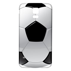 Soccer Ball Samsung Galaxy S5 Back Case (white)