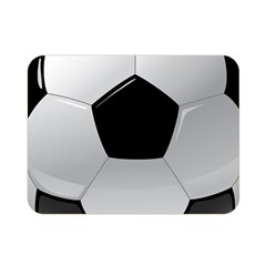 Soccer Ball Double Sided Flano Blanket (mini)