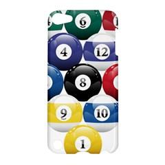 Racked Billiard Pool Balls Apple Ipod Touch 5 Hardshell Case