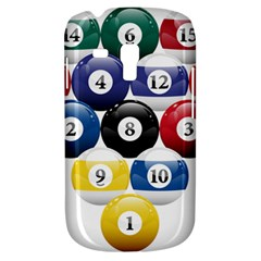 Racked Billiard Pool Balls Galaxy S3 Mini