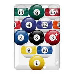 Racked Billiard Pool Balls Kindle Fire Hdx 8 9  Hardshell Case