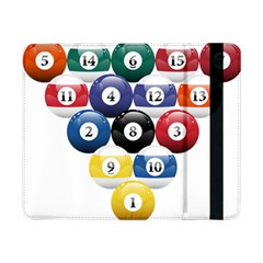Racked Billiard Pool Balls Samsung Galaxy Tab Pro 8 4  Flip Case