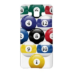 Racked Billiard Pool Balls Samsung Galaxy A5 Hardshell Case