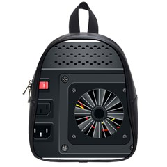 Special Black Power Supply Computer School Bags (small)