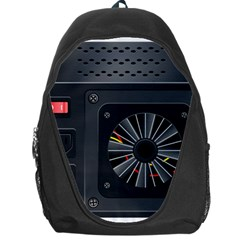 Special Black Power Supply Computer Backpack Bag