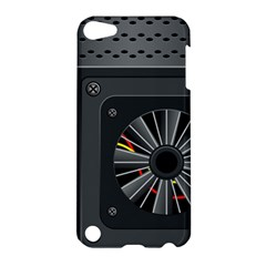 Special Black Power Supply Computer Apple Ipod Touch 5 Hardshell Case