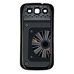 Special Black Power Supply Computer Samsung Galaxy S3 Back Case (black)