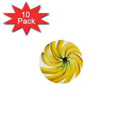Bananas Decoration 1  Mini Buttons (10 Pack)
