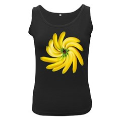 Bananas Decoration Women s Black Tank Top