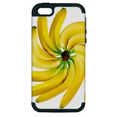 Bananas Decoration Apple Iphone 5 Hardshell Case (pc+silicone)