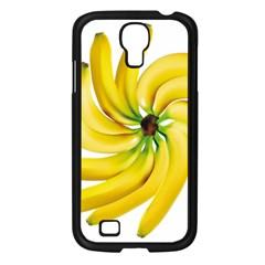 Bananas Decoration Samsung Galaxy S4 I9500/ I9505 Case (black)