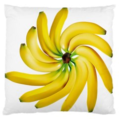 Bananas Decoration Standard Flano Cushion Case (one Side)