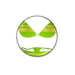 Green Swimsuit Hat Clip Ball Marker (10 Pack)