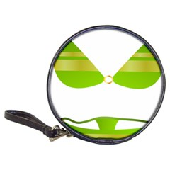 Green Swimsuit Classic 20 Cd Wallets