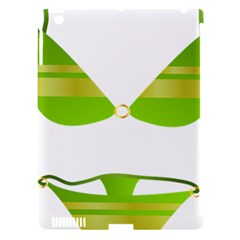 Green Swimsuit Apple Ipad 3/4 Hardshell Case (compatible With Smart Cover)