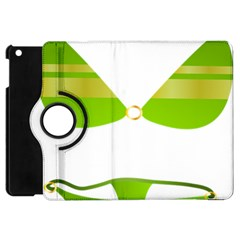Green Swimsuit Apple Ipad Mini Flip 360 Case